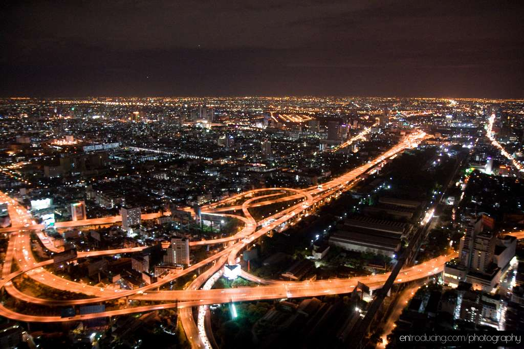 bangkok city night